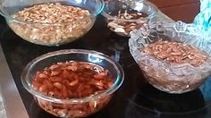 Make your seeds and nuts healthier and tastier by soaking them in salt water and then dehydrating them.  Soaking neutralizes phytates and enzyme inhibitors, which are anti-nutrients.  DIY video.