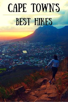 Where to go hiking in Cape Town. A sunrise climb of Lion's Head is a must!!
