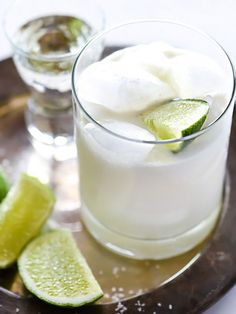 The Best Coconut Margarita Recipe – foodiecrush Cointreau Cocktails, Cocktail Drinks, Fun Drinks, Yummy Drinks, Cocktail Recipes, Beverages, Drinks Alcohol, Alcohol Recipes, Drink Recipes