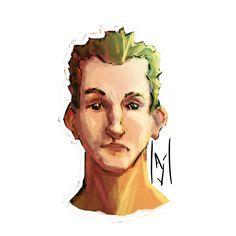 Face doodle by westieslant.deviantart.com on @DeviantArt