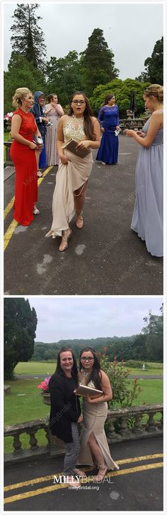 Champagne Formal Dresses with Slit, Long Prom Dresses Mermaid, Halter Evening Dresses Chiffon, Open Back Wedding Party Dresses Tulle Pretty Homecoming Dresses, Hoco Dresses, Tulle Prom Dress, Prom Dresses Online, Mermaid Prom Dresses, School Dresses, Party Dresses, Prom Gowns, Pageant Dresses