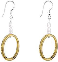 Ahyf Earring S925 sterling silver earrings female temperament simple personality wild exquisite earrings
