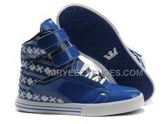 4311b589a4f4 Supra TK Society Blue White Snowflake Men s Shoes