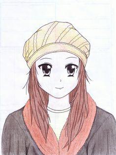 #illustration #illustrate #characterdesign #kawaii #kawaiigirl #cute #kindness #happy #anime #animeart #animefan #hat #girl #beauty #beautiful #art #smile