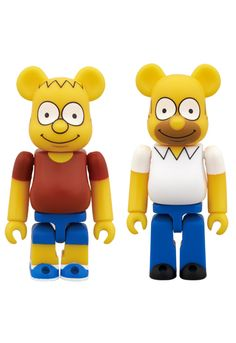MEDICOM TOY - BE@RBRICK THE SIMPSONS<br> BART SIMPSON/HOMER SIMPSON<br>