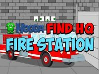 You are a member of a secret club. The headquarters is somewhere in the fire station. Look around and find clues to help you find HQ. Escape Games, The Secret, Fire, Club
