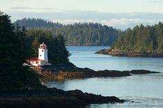 Rockwell Lighthouse, Alaska, Sitka,