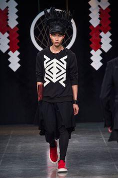 D.GNAK - Fall 2015 Menswear - Look 17 of 29