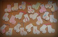 Korcsolya (papír és spatula)
