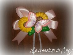 Farfalline in gesso decorato