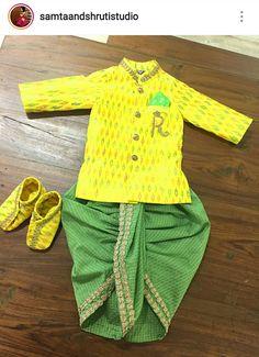 Ethnic Wear For Boys, Kids Indian Wear, Kids Wear Boys, Baby Boy Dress, Toddler Dress, Baby Boy Outfits, Kids Outfits, Kids Kurta Pajama, Boys Kurta Design