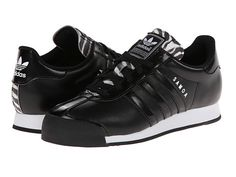 adidas Originals Samoa W Black/Core White/Zebra Print - Zappos.com Free Shipping BOTH Ways