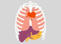 """Hugs Keep Us Alive!"" - Threadless.com - Best t-shirts in the world"