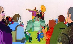 Somebody Stole My Thunder: Blue meanies!!! Young Fred escapes in YELLOW SUBMARINE (1968)