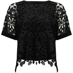 Phase Eight Georgie Lace Front Blouse, Black (850 SVC) ❤ liked on Polyvore featuring tops, blouses, flower print blouse, geometric print top, floral print blouse, lace up blouse and geometric blouse