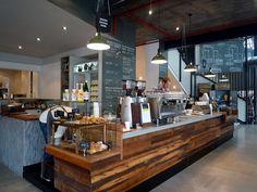 Love the counter.... Market Lane Cafe, AU