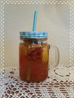 W siódmym niebie - blog kulinarny: Rozgrzewający napój Mason Jars, Mugs, Tableware, Blog, Dinnerware, Cups, Mug, Dishes, Mason Jar