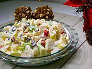 Ensalada Cremosa de Manzana, Apio y Piña