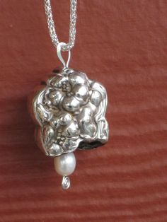 Antique Silverplate Knife Bell Necklace by laughingfrogstudio, $27.99