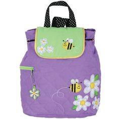 Daisy Bee Quilted Stephen Joseph Backpack