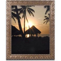 Trademark Fine Art Majical Canvas Art by Monica Mize, Gold Ornate Frame, Size: 11 x 14