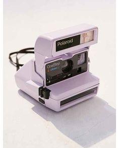Vintage Camera Lavender Polaroid 600 Close-Up Instant Camera Film Polaroid, Polaroid 600, Polaroids, Vintage Polaroid Camera, Polaroid Cameras, 35mm Film, One Step Polaroid Camera, Lavender Aesthetic, Purple Aesthetic