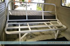 Seat bed / rock and roll bed for in your bus!
