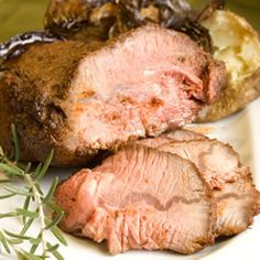 Herb Rubbed Sirloin Tip Roast Recipe