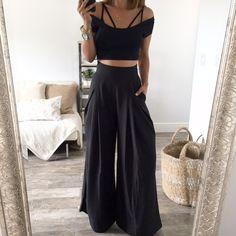 The Chloe Trousers - Black