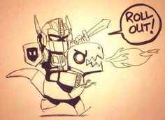 Optimus Prime and Grimlock