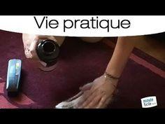Comment laver un tapisavec du bicarbonate de soude, une brosse et un aspirateur.