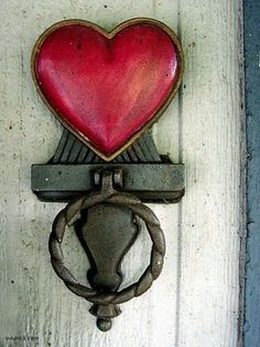 """Let my love open the door."""