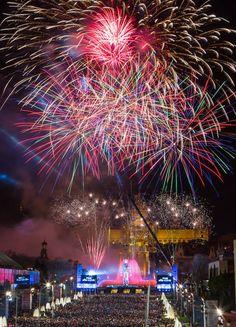 Feliç 2014 - Happy New Year Barcelona, Spain
