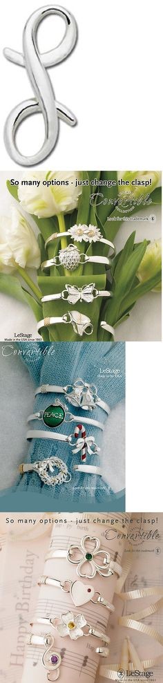 Other Wedding Jewelry 164311: Lestage Convertible Bracelet Clasp - L Love -> BUY IT NOW ONLY: $49 on eBay!