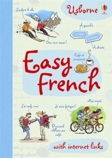 Easy French  internet sites-  Free and safe.  You don't have to buy the book
