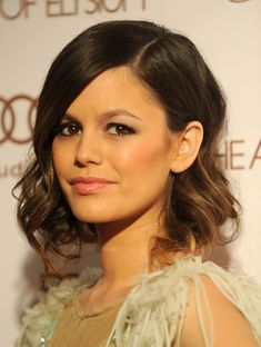 Rachel Bilson: Loosely pinned updo