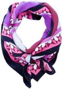 Emilio Pucci Printed scarf thestylecure.com