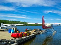 Fly-in fishing at Bear's Camp - Lake McLennan, #Saskatchewan