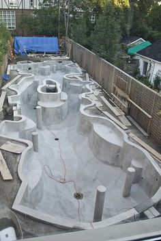 Koi Pond Construction - Parge 15 by Koi Fan, via Flickr