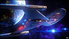 Concordia by Kurumi-Morishita Star Trek 1, Star Trek Ships, Uss Discovery, Star Trek Discovery Ship, Star Trek Convention, Starfleet Ships, Star Trek Beyond, Star Trek Into Darkness, Star Trek Starships