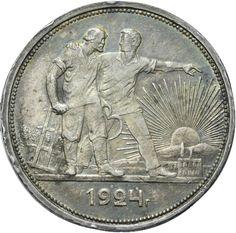 1 Rouble 1924 Russia Silver | eBay