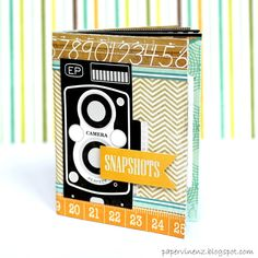 Tuto du mini avec papiers Echo Park... http://www.papervinenz.com/2012/03/this-and-that-mini-album-plus-tutorial.html
