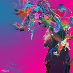 """Archan Nair -New Illustration titled """" Lifted """""""