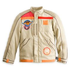 Star Wars: The Force Awakens Finn Pilot Jacket For Kids