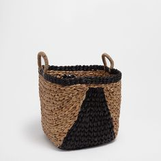 Image 1 of the product Natural fibre basket with handles