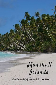 The Marshall Islands: Guide to Majuro and Arno Atoll - Erika's Travels Beautiful Beach Pictures, Beautiful Beach Sunset, Most Beautiful Beaches, Beach Photos, Sea And Ocean, Pacific Ocean, Ways To Travel, Travel Tips, Travel Guides