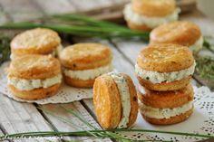 Lavanda e rosmarino: Macarons salati