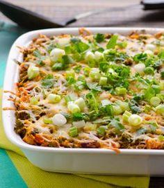 Chili Chicken, Kale, and Quinoa Casserole. This gluten free chicken casserole makes excellent use of quinoa