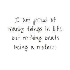 ♥ we can both say this, we are the proudest parents around.