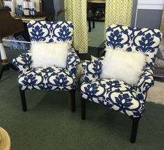 Set Of Chairs Redone By SuperChic Designs, Bay City MI